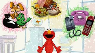 Elmo's World Pets, Food & Telephones! (PC Game)