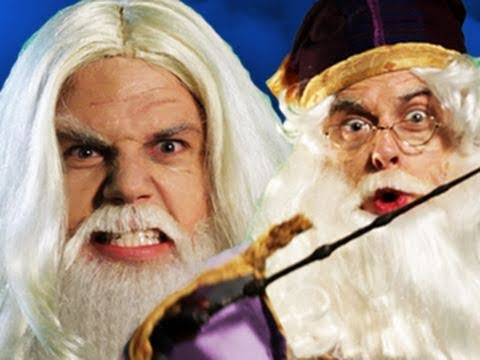 Gandalf vs Dumbledore. Epic Rap Battles of History 11