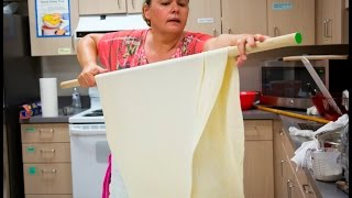 A taste of Bosnian culture: Make phyllo dough from scratch