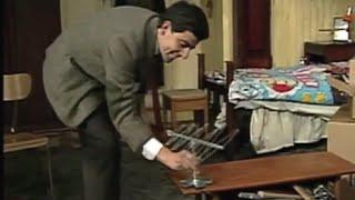 Bean Tries to Fix a TV | Mr. Bean Official