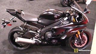 2017 Yamaha R6 -  Walkaround - 2017 Toronto Motorcycle Show