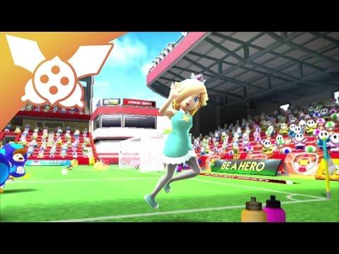 Détente Mario Sports Superstars 01 Harmonie joueuse de foot