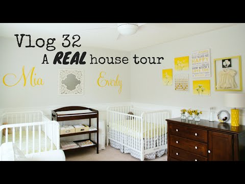 VLOG 32: A REAL HOUSE TOUR | Nesting Story