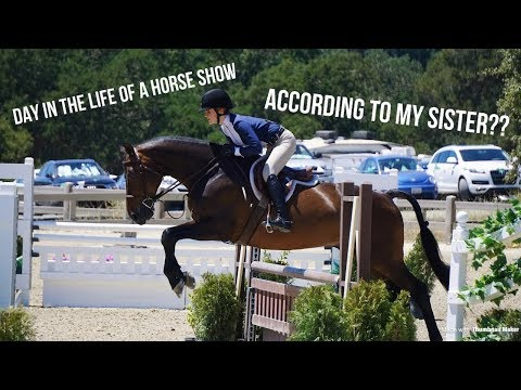 Xxx Mp4 My SISTER Vlogs My Horse Show Day In The Life 3gp Sex