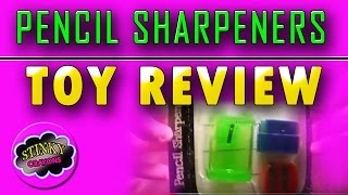 The Guy Who Reviews Pencil Sharpeners! Yes, He did!