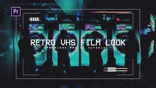 VHS Film Effect/Look - Premiere Pro CC Tutorial (+ FREE PRESET)