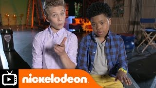 Game Shakers | Either Or with Benji and Thomas | Nickelodeon UK