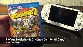 PSVita: Borderlands 2 Hands On (Retail Copy)