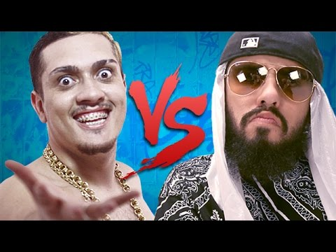 MC Bin Laden VS. Mussoumano Batalha de Youtubers