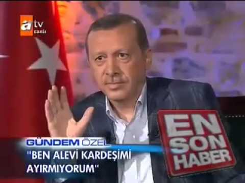 Aleviler Tayyip Erdoğanı neden sevmiyor Haberi MEHMET ALİ ARSLAN news haberler