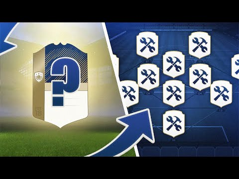 CRAFTING AN ICON FROM SCRATCH! - FIFA 18 Ultimate Team