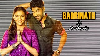 Badrinath Ki Dulhania FIRST LOOK releases ft Varun Dhawan, Alia Bhatt