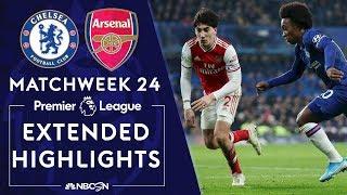 Chelsea v. Arsenal   PREMIER LEAGUE HIGHLIGHTS   1/21/2020   NBC Sports