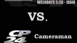 DEAN BLUNDELL VS. CP24 CAMERAMAN Edge 102.1 FM Toronto SHOW