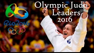 Olympic judo leaders in rio 2016