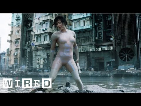 Creating Scarlett Johansson s Computer Generated Body Suit Ghost in the Shell Design FX WIRED