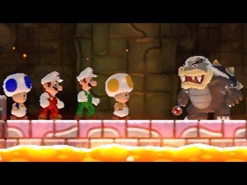 Xxx Mp4 New Super Mario Bros Wii All Bosses 4 Players 3gp Sex