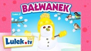 Bałwanek i wiosna - Piosenki dla dzieci. Lulek.tv. NOWOŚĆ!
