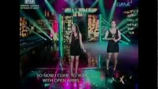 Jonalyn Viray & Kyla 'Open Arms' Party Pilipinas FTW 22 April 2012 [Clear Audio]