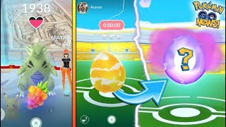 EXCLUSIVE GAMEPLAY OF THE NEW GYM RAID UPDATE COMING TO POKEMON GO! New Items, Raid Bosses & More!