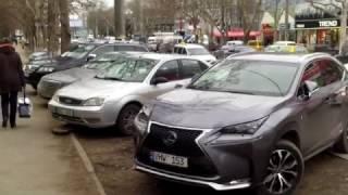 Maşini bengoase, parcate în glod, ilegal - Curaj.TV