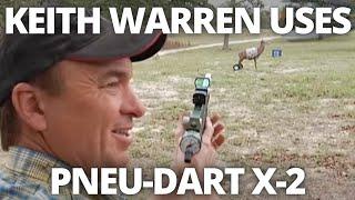 Pneu-Dart X-2 Gauged Pistol featured on Keith Warren's Outdoor Adventures