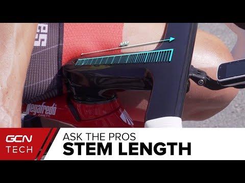GCN Tech Asks The Pros How Do You Choose Your Stem Length