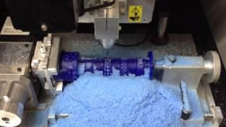 Jewelry Ring CNC Wax Milling