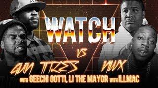 WATCH: GUN TITLES vs NWX with GEECHI GOTTI, LI THE MAYOR and ILLMAC