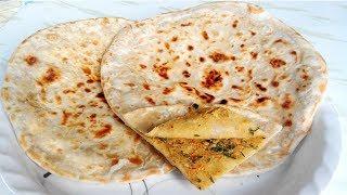 বাংলাদেশী ডাল পরোটা তৈরির রেসিপি - Bangladeshi Dal Paratha - Bangladeshi Paratha Ranna Recipe