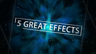 5 great effects in After Effects