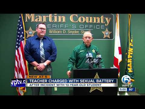 Xxx Mp4 Stuart Middle School Teacher Accused Of Sex With 13 Year Old Student Inside His Classroom 3gp Sex