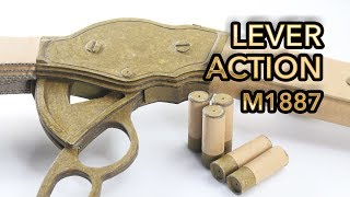Best Lever Action | How To Make Cardboard Gun