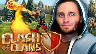 Clash of Clans | Mass Wizards, Hog Riders and P.E.K.K.A