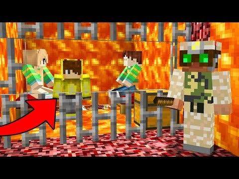 Minecraft EN ZOR İMKANSIZ CEHENNEM HAPİSHANE'DEN KAÇIŞ!