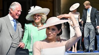 Meghan's first outing as a Duchess: Harry & his wife attended Prince Charles's 70th birthday party