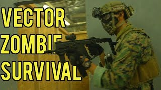 Zombie Survival Airsoft Game | Krytac Vector AEG