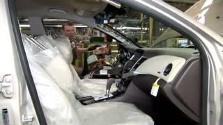 Chevrolet Cruze Manufacturing - صناعه سيارة شيفرولية كروز