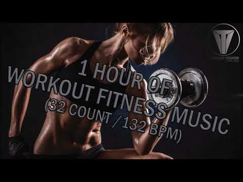 1 HOUR OF WORKOUT FITNESS MUSIC (32 COUNT/132BPM)