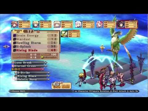 Record of Agarest War Zero Fast Level Up Boundary s Edge for level 1 800 characters