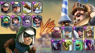 Legendaries vs Epic | Clash Royale Challenge