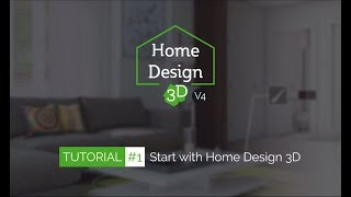 Home Design 3D - TUTO 1 - Start With Home Design 3D