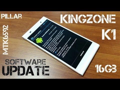 KINGZONE K1 PRO MTK6592 Octacore NFC OTG - Sofware Update!