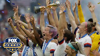 Go through the USWNT's journey to World Cup™ glory | ALEXI LALAS' STATE OF THE UNION PODCAST