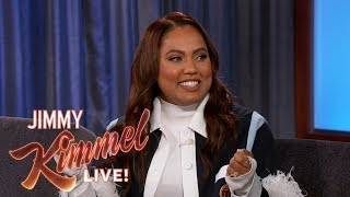 "Ayesha Curry on First Date with Steph Curry & New Show ""Family Food Fight"""