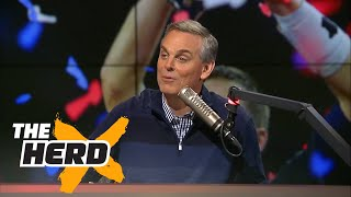 Tom Brady and Bill Belichick win 5th Super Bowl - Colin reacts | THE HERD