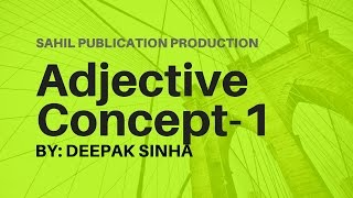 ADJECTIVE CONCEPT 1