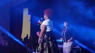 Mary Mary Rare Performance of  IT'S THE GOD IN ME with Kierra Sheard  LIVE NYC
