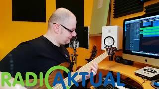 Snemanje jingle-a za radio Aktual