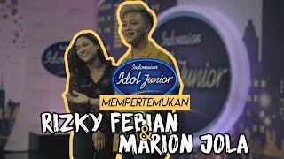 Indonesian Idol Junior mempertemukan Rizky Febian & Marion Jola